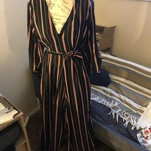 Other - Women's striped jumpsuit
